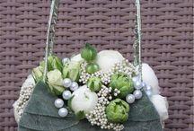 floreal pochette - wedding bouquet