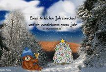 Grußkarten zu Silvester / Silvestergrüße versenden, Silvesterkarten