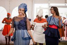 Tswana beautiful bride