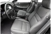 Honda Interiors / Customizable Replacement Leather Upholstery for Your Honda Vehicle - Worn Leather or Factory Cloth ? - Replace it With Our Leather Packages - Check us out at canadaseatksins.com