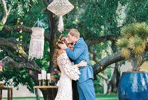 Свадьба макраме
