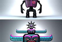3-D character