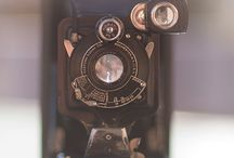 vintage cameras / by Pictures to Scrapbook
