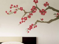 Branch Wall Decals / The perfect touch for any room, our beautifully designed Branch Wall Decals and wall stickers will accent your home in style. Our popular Cherry Blossom Wall Decals make the room feel like spring all year round! Coordinate wall decal branches on an opposite wall that sports one of our Tree Walls Decals for a stylish flow of theme.