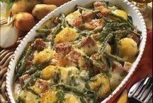 Bohnen Kartoffel Auflauf