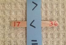 HS Math: Greater/Less than / by Alisha Bilderback