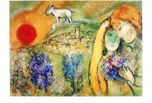 """Marc Chagall"" / Feel free to pin any photos from the artist Marc Chagall. If you want to be invited just follow the board or comment ADD ME on one of the ADD ME Pins."