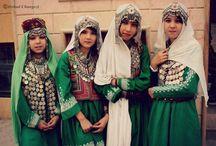 Afghan tribal costumes