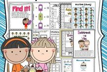 MATH CENTERS / by Chelsey Eddy