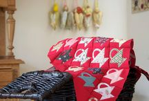 Post stamp basket quilts / Quilts made with one of my favorite blocks: the Postal Stamp Basket