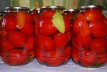 Заготовки овощи