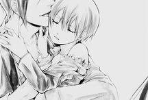 yaoi / Yaoi = relação homem x homem. Gay...