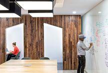 Office grey wood