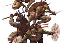 TMNT! / Childhood heroes. Cowabunga!