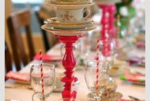 Pöytä koristeet