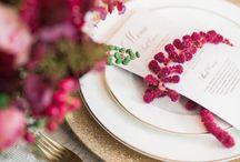 Pink & Berry Wedding