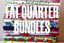 Fat Quarter Bundles / Fat quarter bundles that are available in the shop.