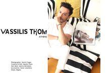 Interview / Fashion Designer Vassilis Thom  Interviews & photoshoots.