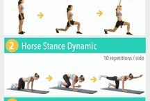 Styrketrening/yoga