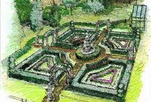 Knot Herbal Garden