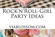 Rock n Roll girl party