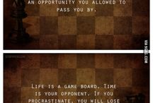 Chess teaches / Chess related