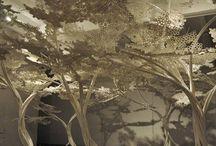 paper cutting art/ interiors