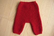Vendestrikk bukser