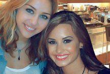 Miley, Demi and Selena