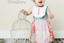 baby girl / Cute baby clothes for a baby girl.