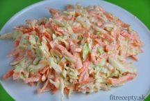 zdravy salat z mrkvy,kapusty