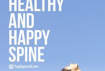 healthy spirit / yoga, jogging and fitness