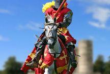 Lance & knight & Castle