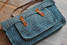 Knitted and crocheted bag patterns