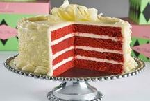 Red Velvet If You Please.... / My favorite cake done umpteen dozen ways....! / by Dona (Chicken Giggles) Parmely