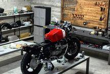 Workshop garage plan