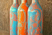 Painted Wine Bottles / by Jessica Joudy