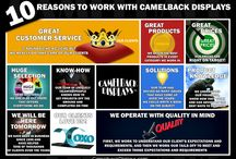 10 Reasons To Work With Camelback Displays