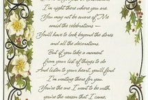 Christmas Letters & Poems / by Lupe Binoeder
