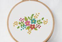 Flower Cross-Stitch Patterns