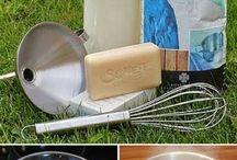 Creme und Waschmittel