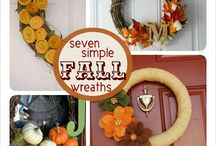 Fall Wreaths / by Brittany Constant