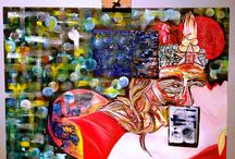 Paintings / On my mind