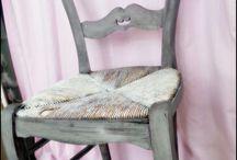 chaises restauré