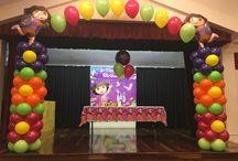 Dora the Explorer Party Ideas / Dora The Explorer Balloon Decorations