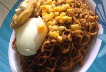 Homemade Food / Masakan ala anak kosan