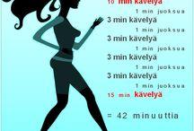 Juoksukoulu / Tänne päivittyy neljän viikon juoksukoulu, kun se alkaa 9.4.