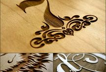 laser etched projects