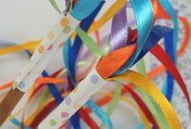 Ribbon wands/Rings