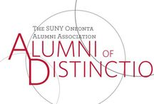 Alumni of Distinction /  Selected from nominations by faculty, staff and alumni, these individuals will represent just a few of the thousands of alumni who contribute in countless ways to the college, to their communities and to their professions.